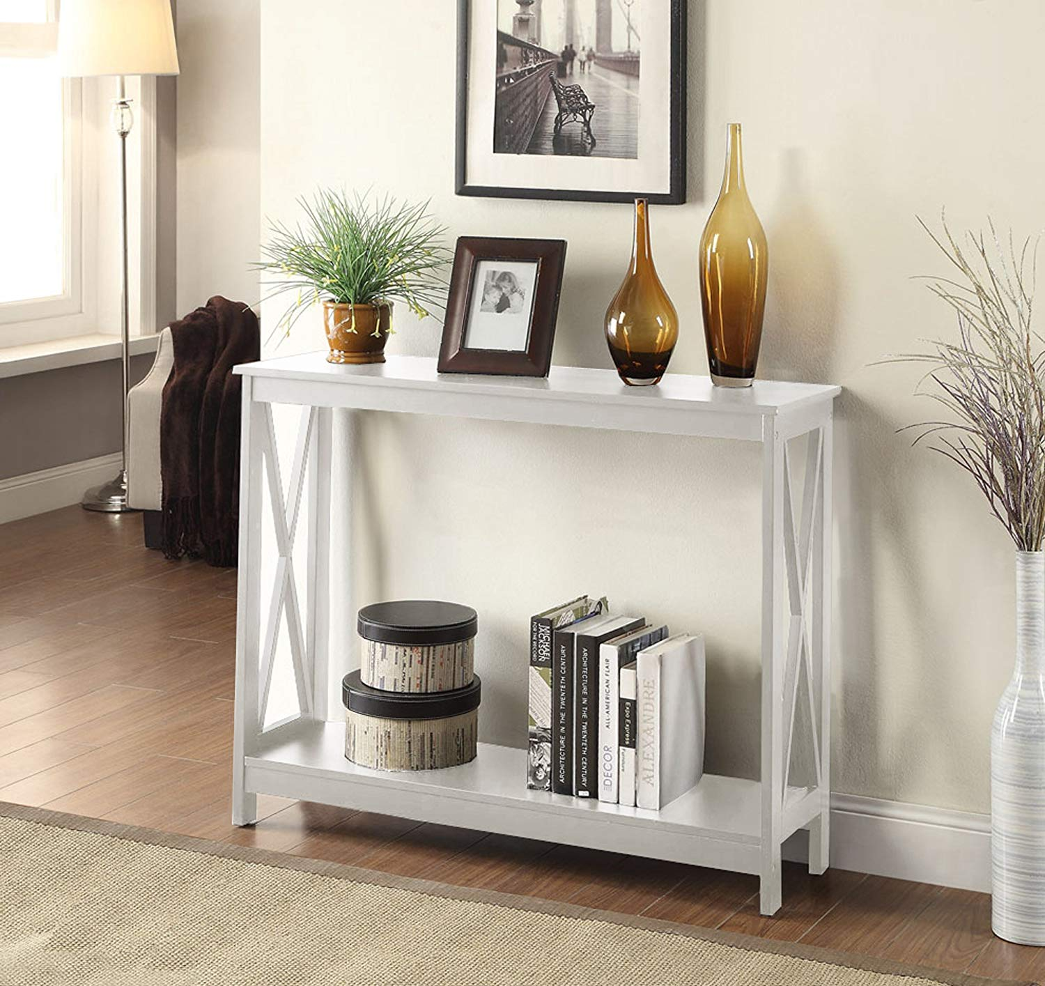 Convenience Concepts Brand Oxford Console Table