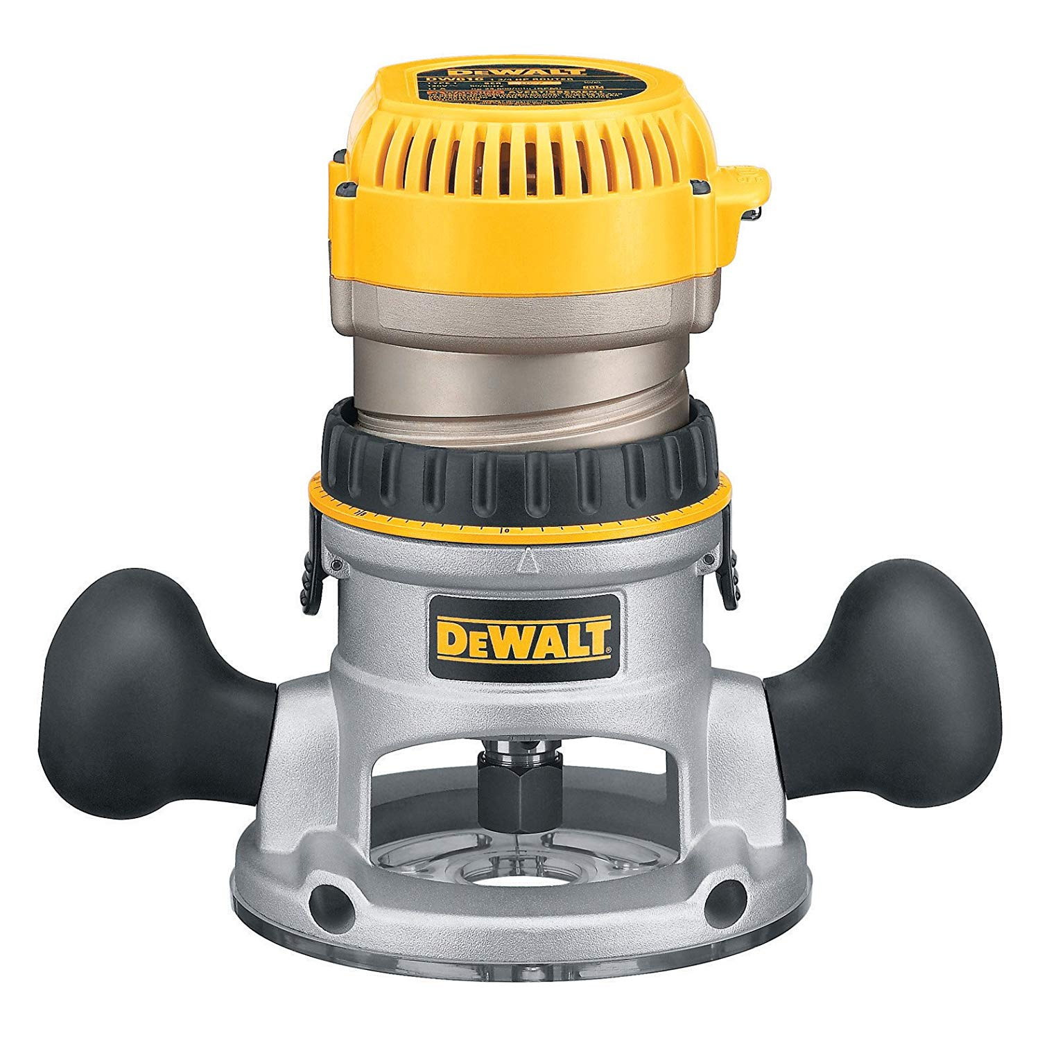 DEWALT DW616 1-3:4-Horsepower Fixed Base Router