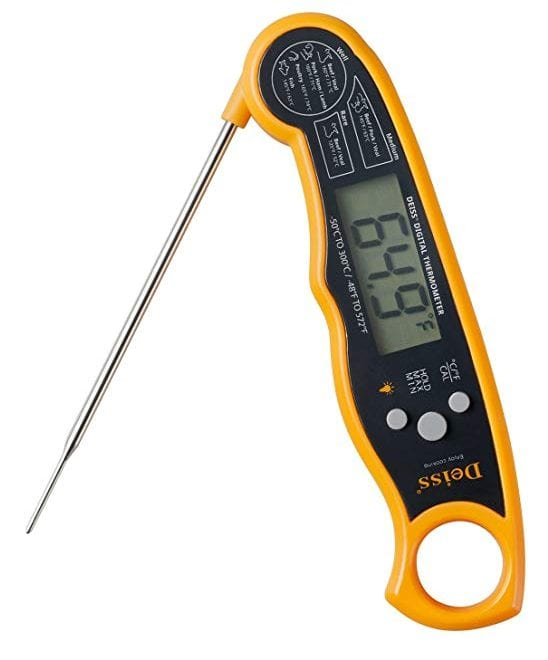 Deiss PRO Digital Meat Thermometer