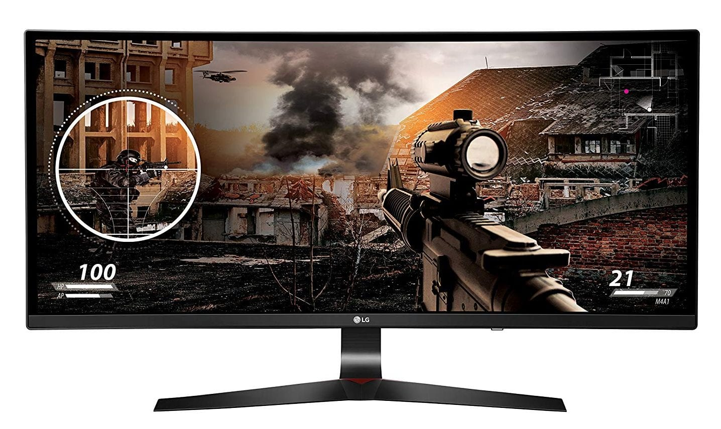 LG 34UC79G-B Curved Ultra-Wide Gaming Monitor