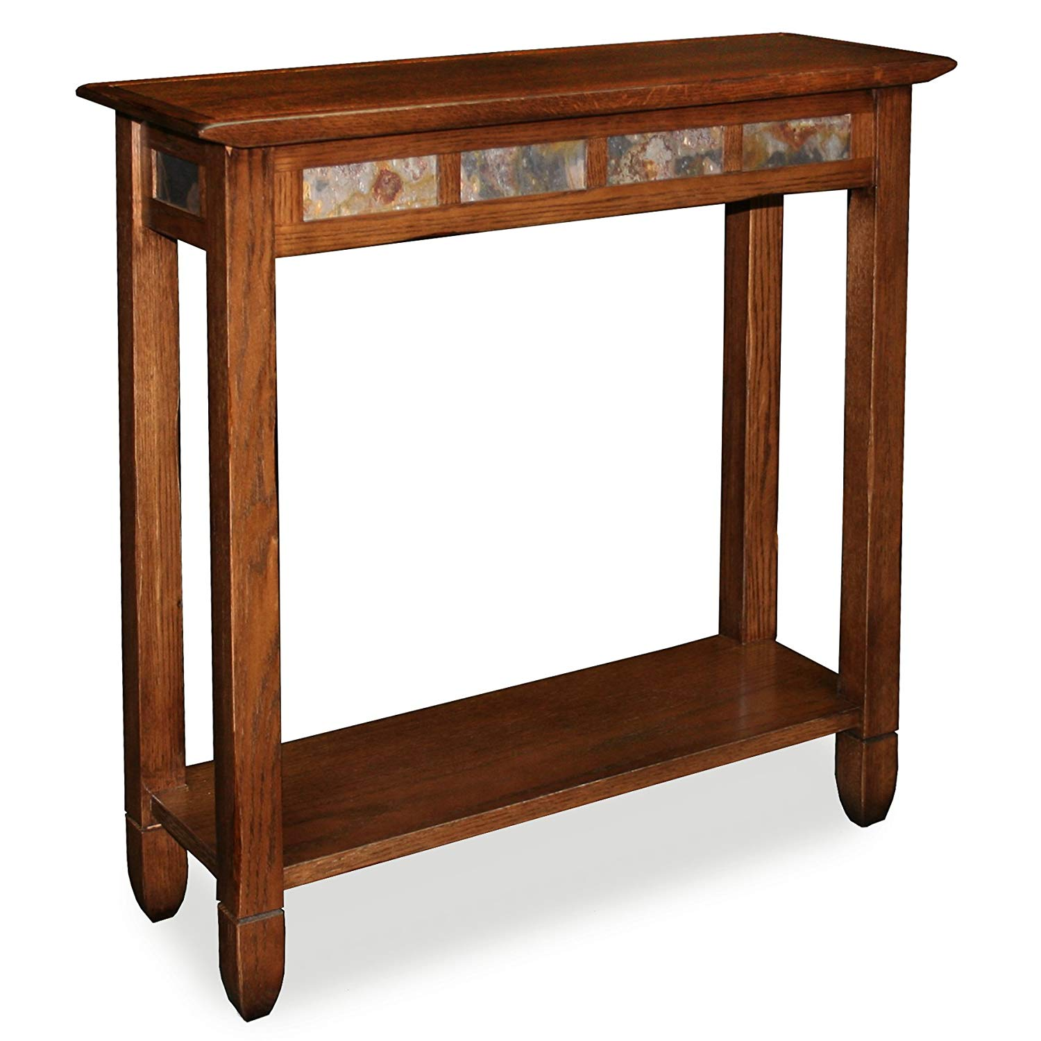 Leick Furniture Brand Rustic Slate Hall Stand