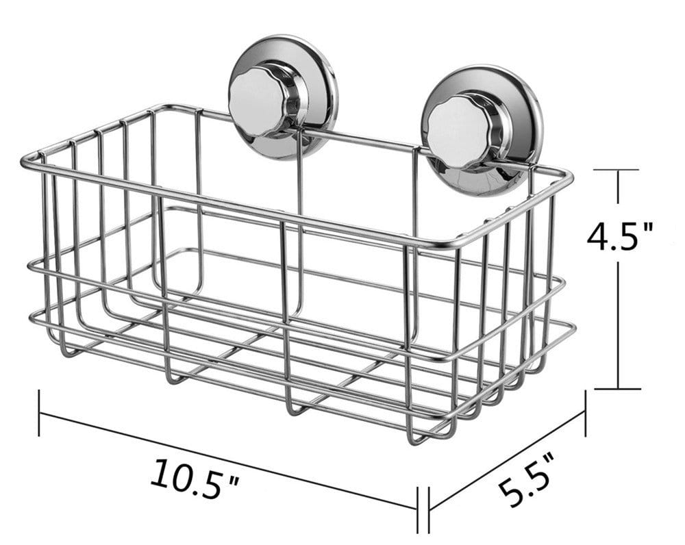 SANNO Bathroom Shower Caddy Combo organizer