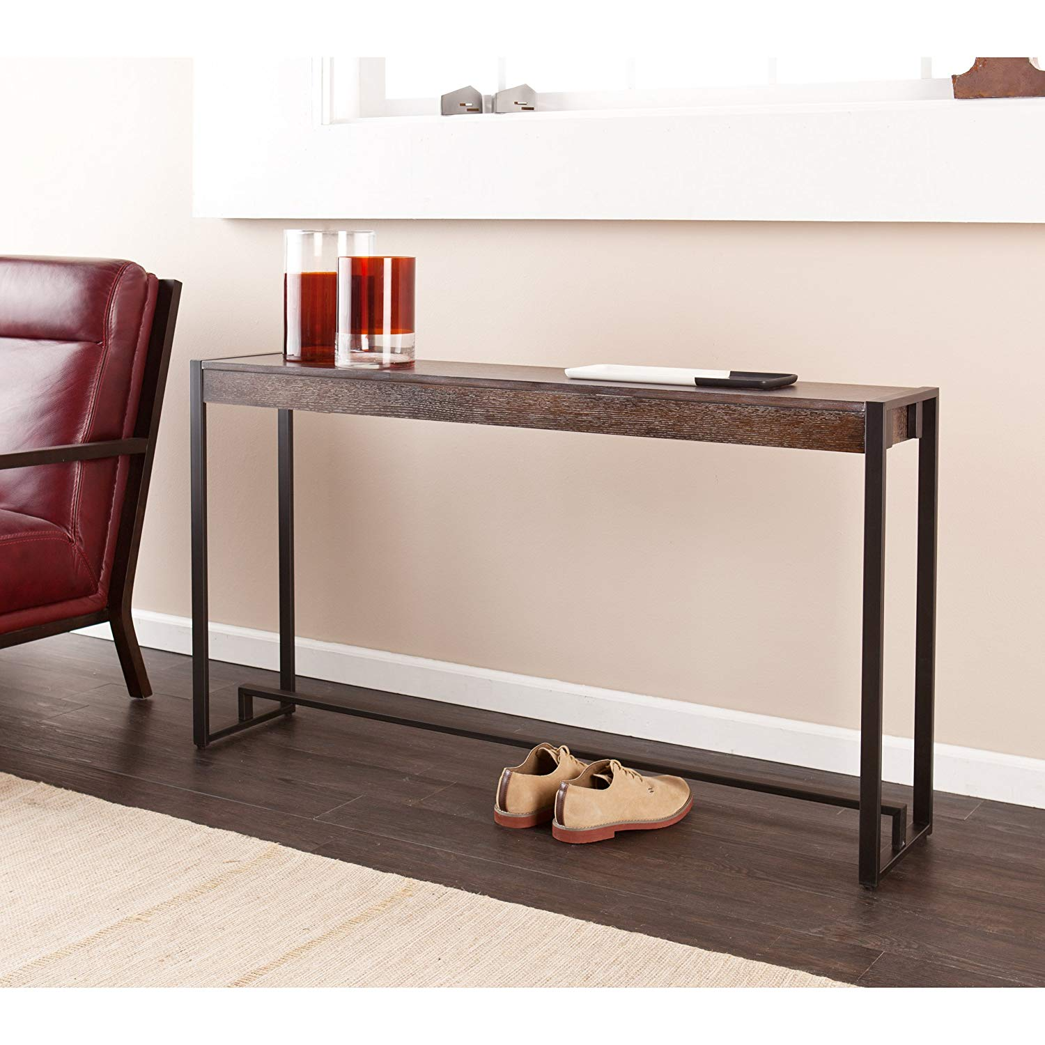 Southern Enterprises Brand Holly and Martin Macen Console Table