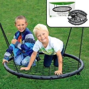 Svan 40-Inch Tree Net Swing for 2 Kids