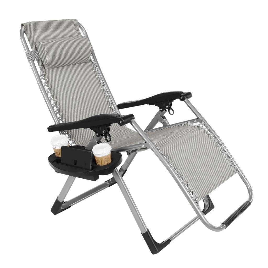 The Artist Hand Zero Gravity Heavy Duty Outdoor Folding Lounge Chairs
