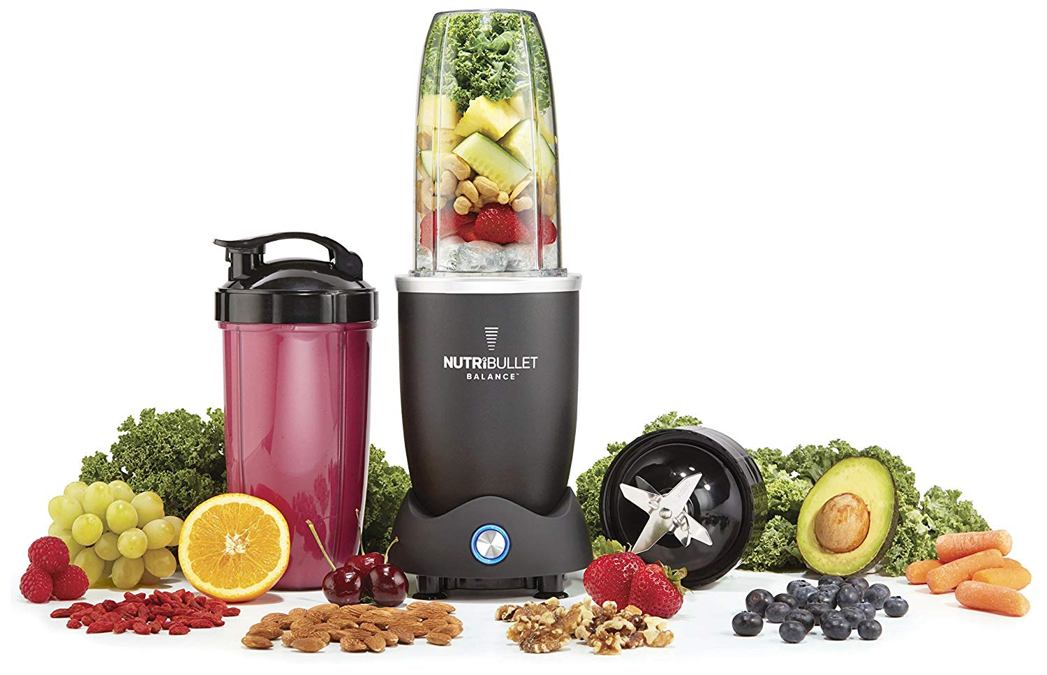 The NutriBullet Balance, Bluetooth Enabled Smart Blender