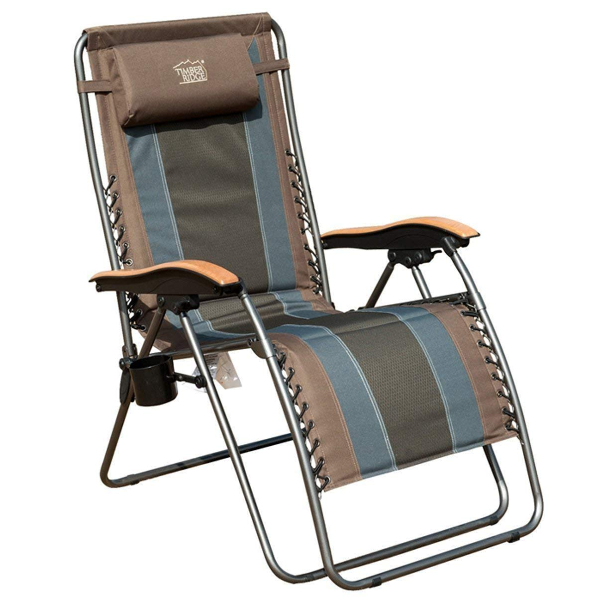 The Timber Ridge Zero Gravity Patio Lounge Chair