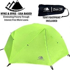 Hyke & Byke 2-Person Backpacking Tent