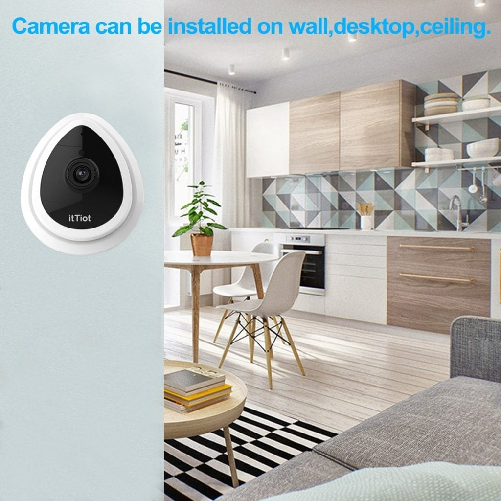 ItTiot Wireless IP Camera for pet monitor