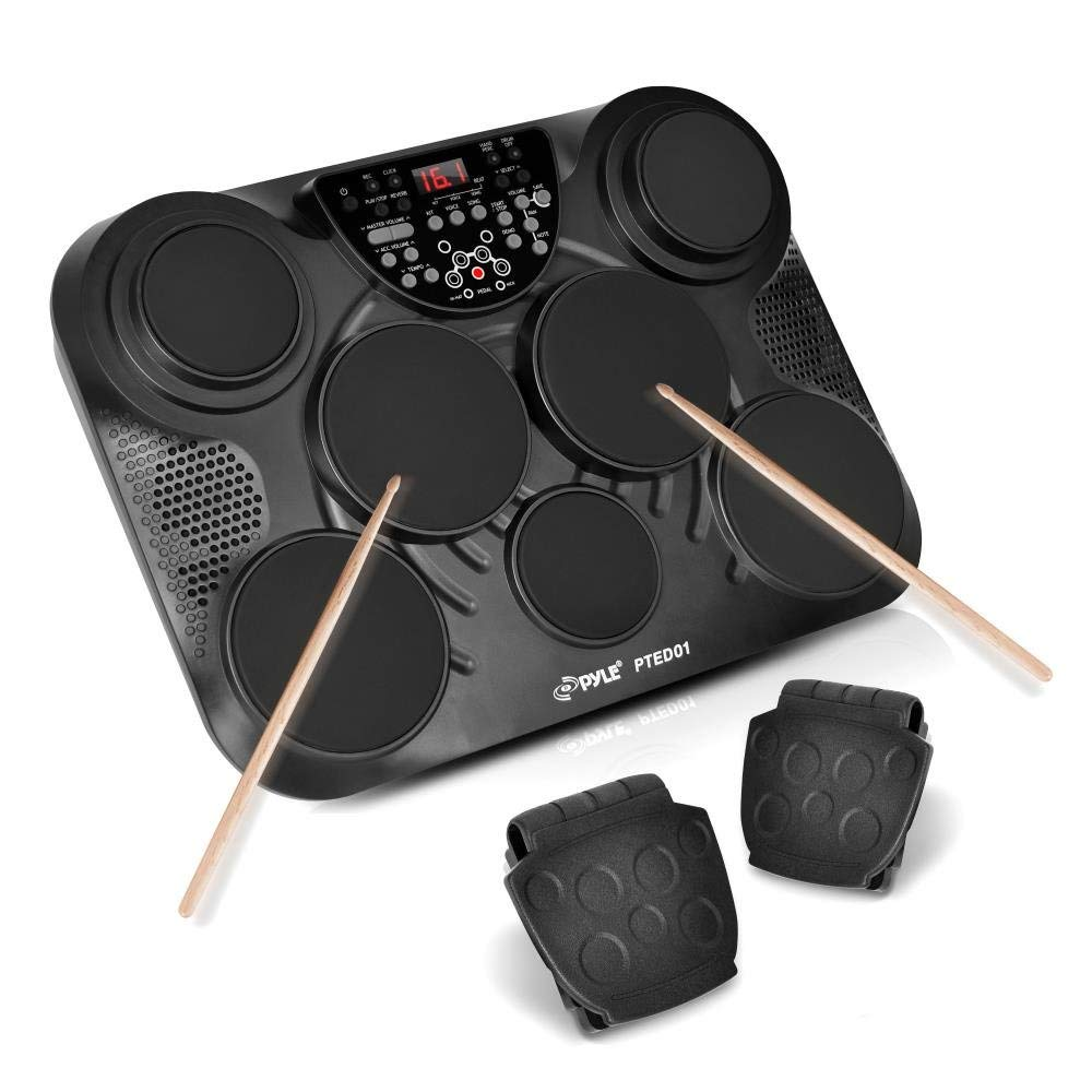 PylePro Tabletop Drum Set