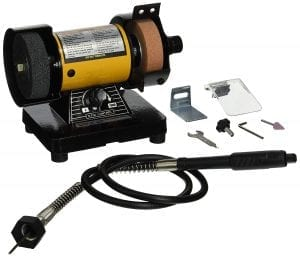 TruePower 199 Mini Bench Grinder
