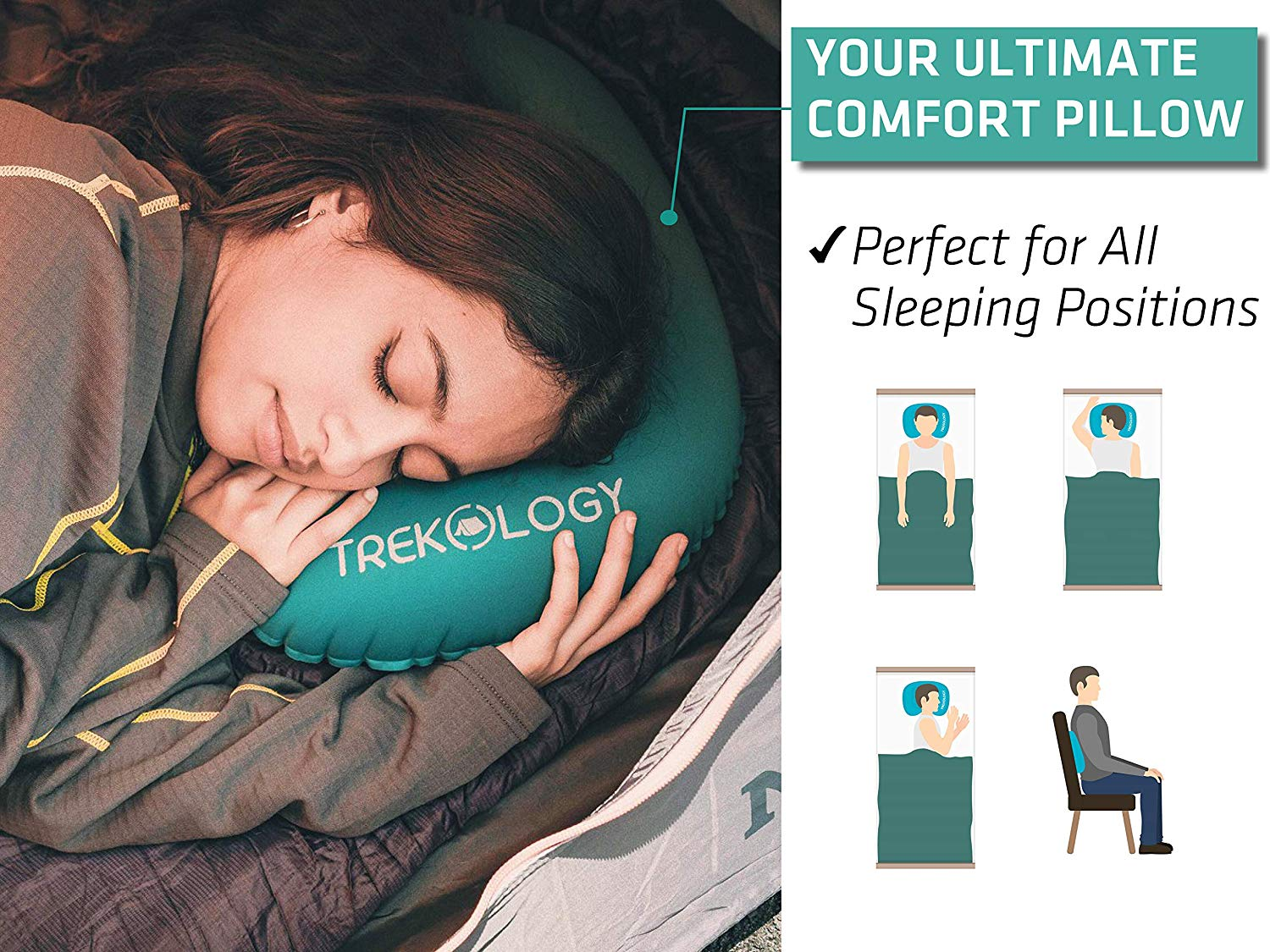 8f24c6725bf Top 10 Best Inflatable Pillows in 2019 - AllTopTenReviews