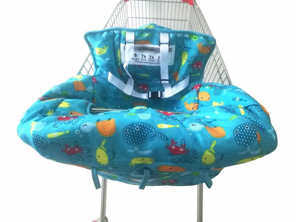 MomBayou Baby 2-in-1 Shopping Cart Cover