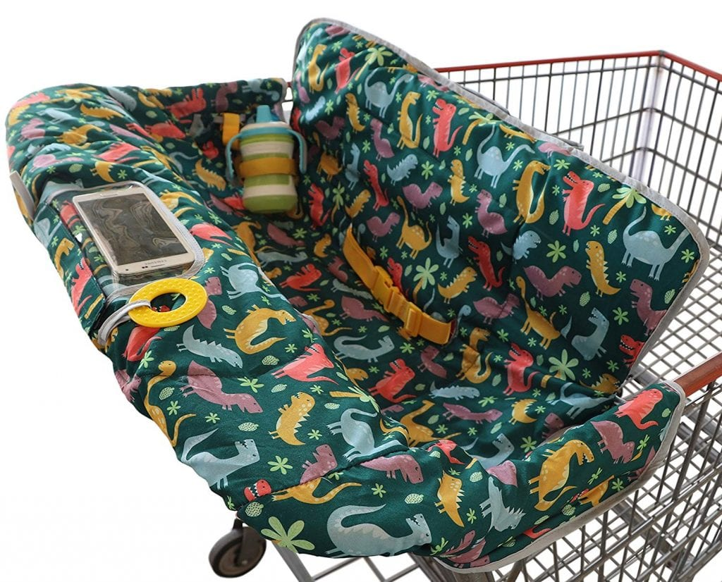 2-in-1 Shopping Cart Cover for Baby
