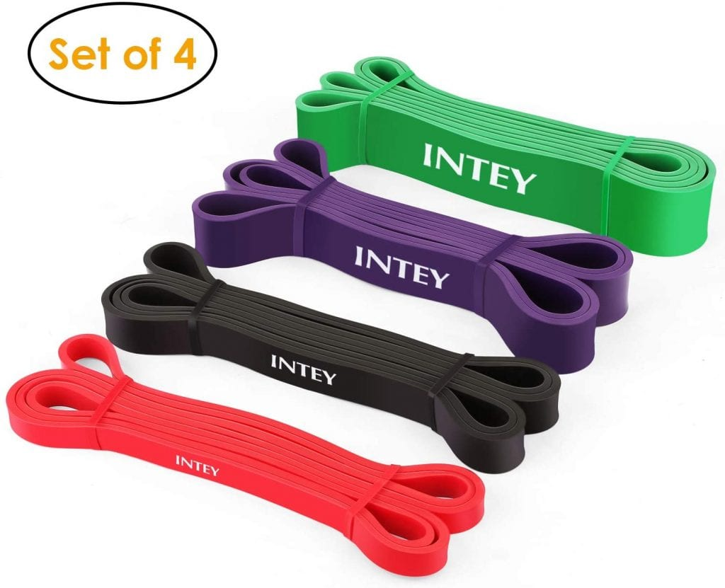 INTEY Pull Up Assist Power Resistance Bands