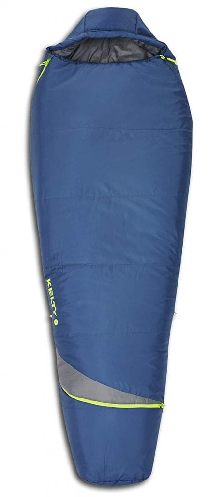 Kelty Tuck Mummy Sleeping Bag – Lightweight with Compression Straps