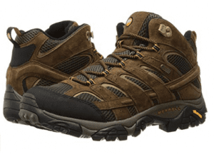 Merrell Men's Moab Mid Waterproof Boots