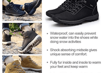 Best Waterproof Shoes for Men
