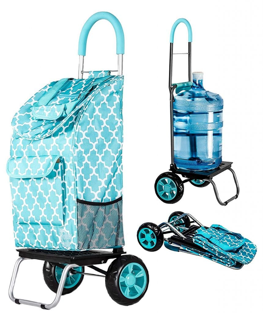 Trolley Dolly Shopping Foldable Cart