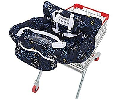 UNKU Multi-Functional 2-in1 Shopping Cart Cover