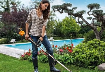 Work 13-Cordless Electric Grass Trimmer, WG184