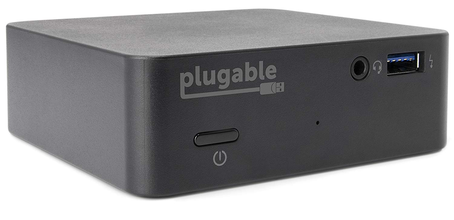 Plugable USB C Mini Laptop Docking Station