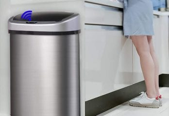BestOffice Automatic Kitchen Trash Can