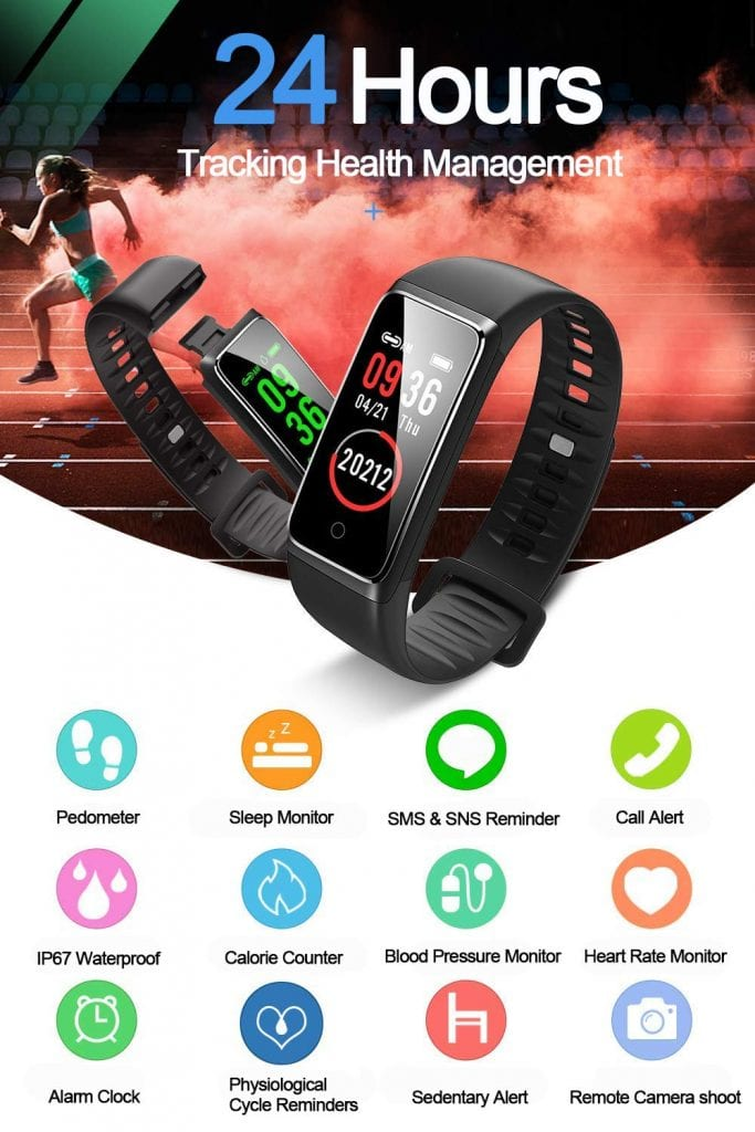 DAWO Fitness Tracker