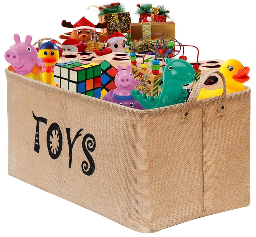 Gimars Easy-carry Toy Chest
