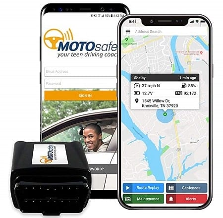 MOTOsafety OBD Car GPS Tracking Device