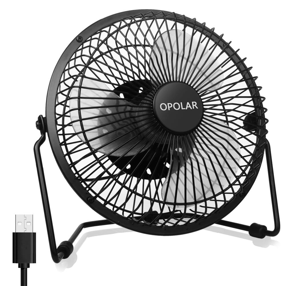 Opolar Silent Desk Fan for Office