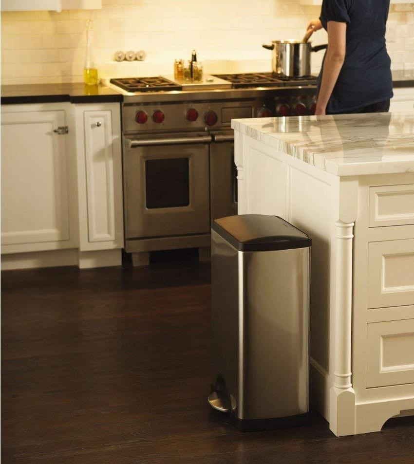 simplehuman Cw1950 Kitchen Trash Can