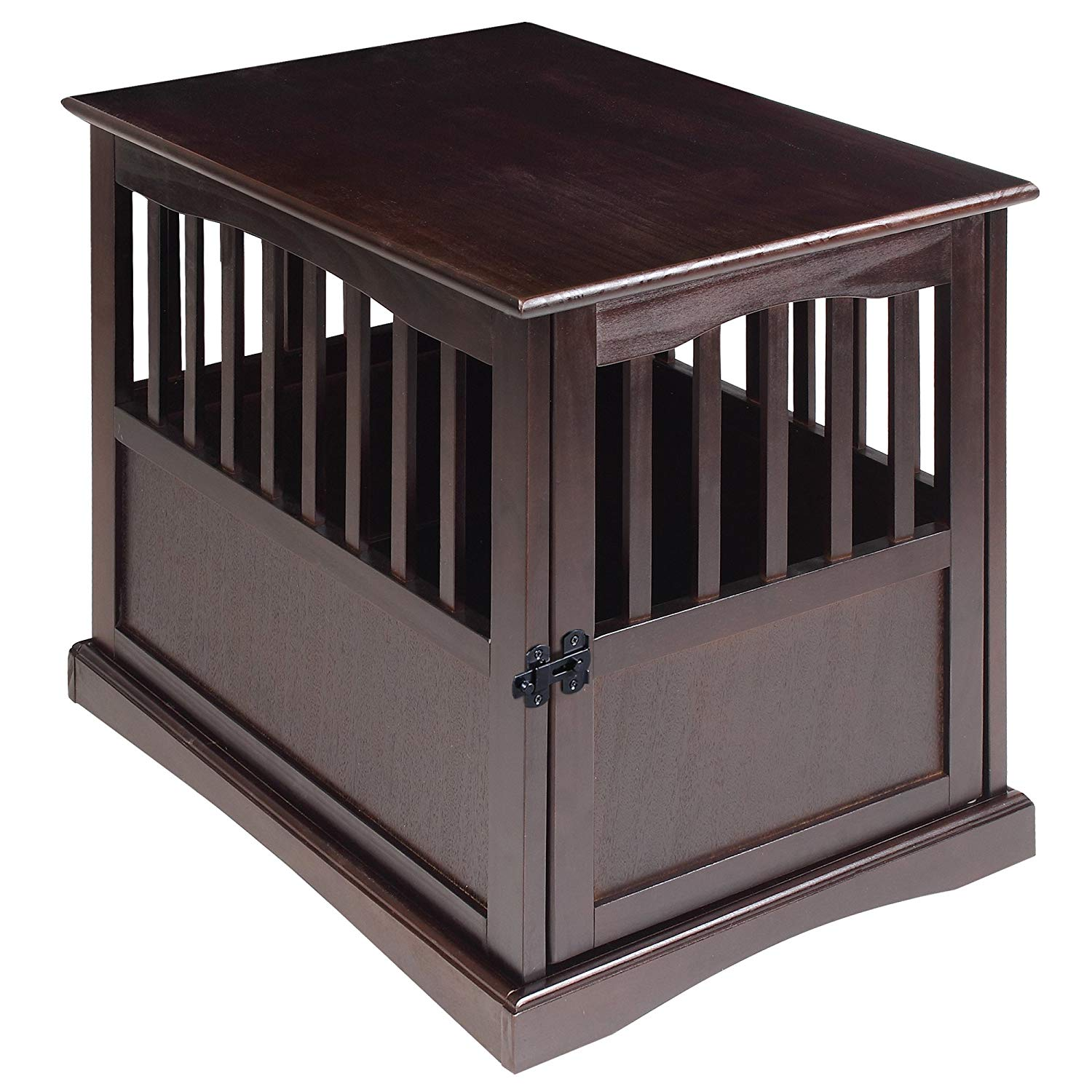 7. Casual Home Wooden Pet Crate