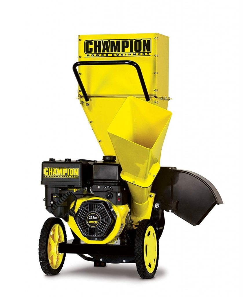 Champion 3-Inch Portable Chipper-Shredder
