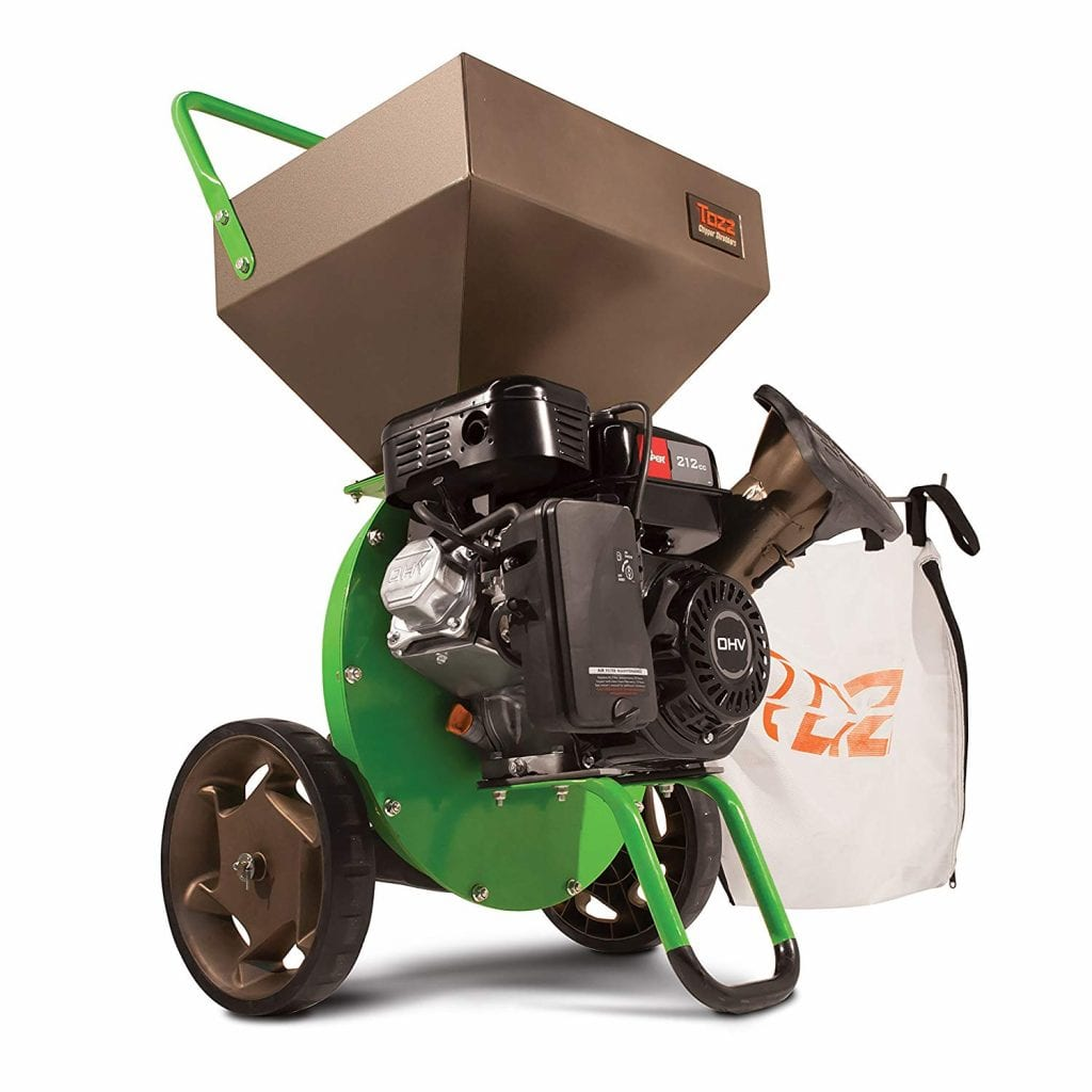 Earthquake TAZZ 30520 Heavy Duty Chipper & Shredder