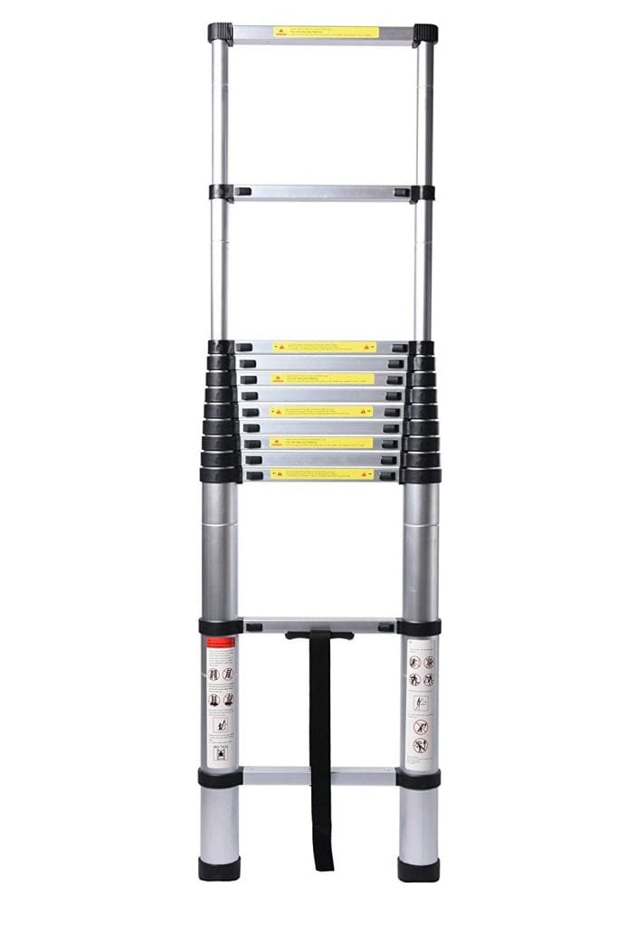 GOOD LIFE 12.5FT Telescopic EN131 Ladder