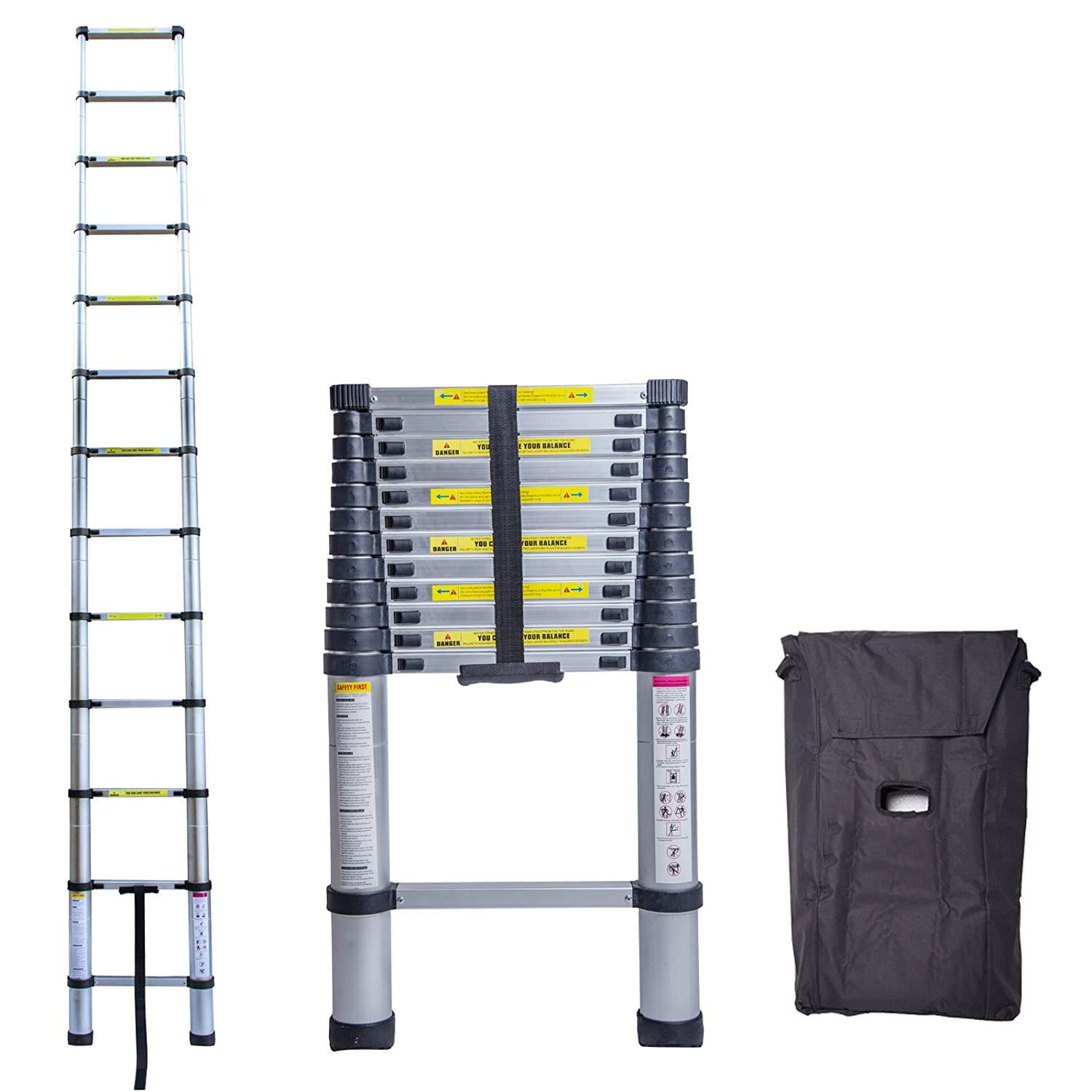 Idealchoiceproduct 12.5FT Ladder Extension Steps