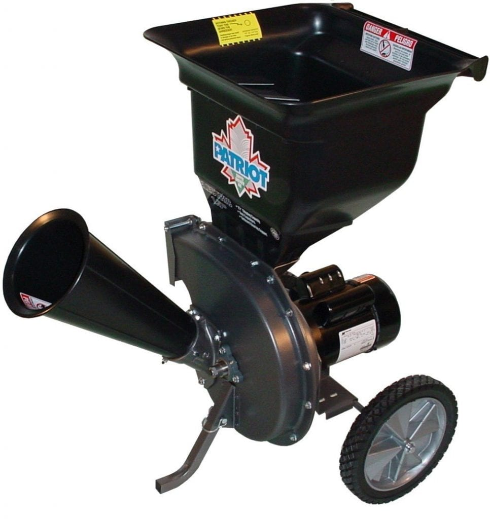 Patriot Products CSV-2515 14 Amp Electric Chipper/Shredder