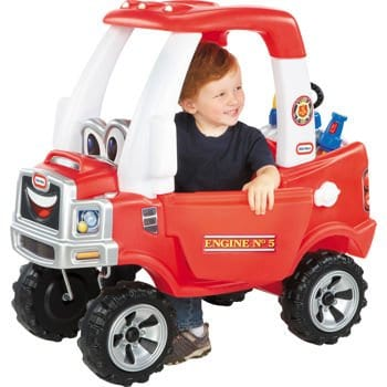 10. Little Tikes Cozy Fire Truck