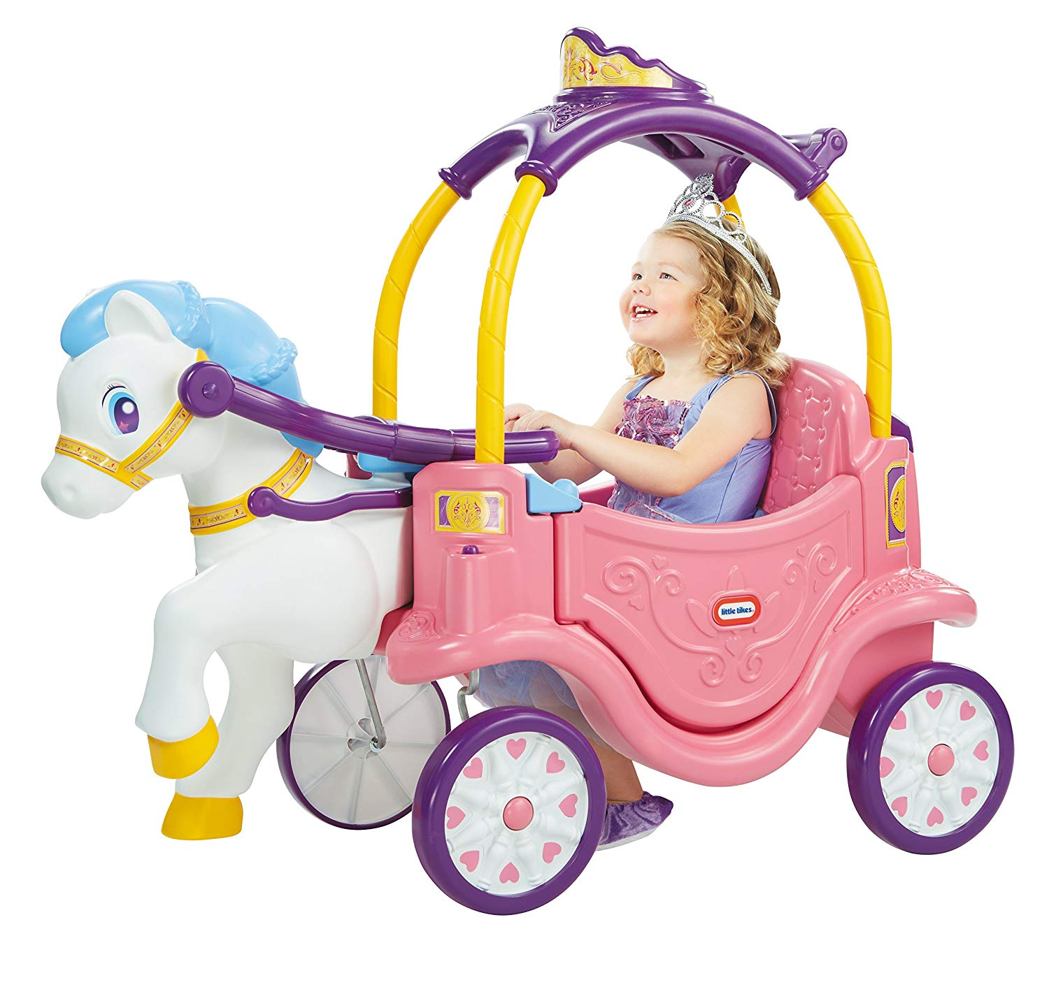 5. Little Tikes Princess Horse & Carriage