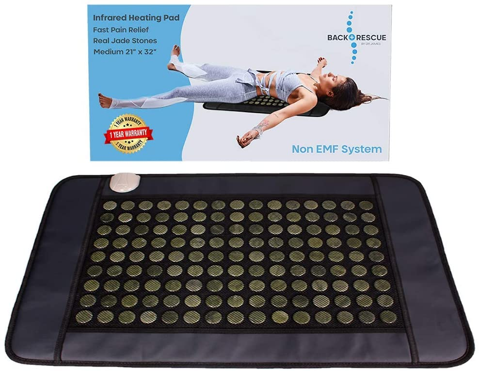 Back Rescue Warranty 1 Included Pain Relieving Heating Pad
