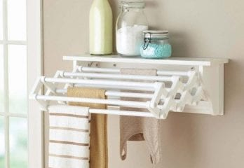 Better Homes & Gardens Wall-Mounted Drying Rack