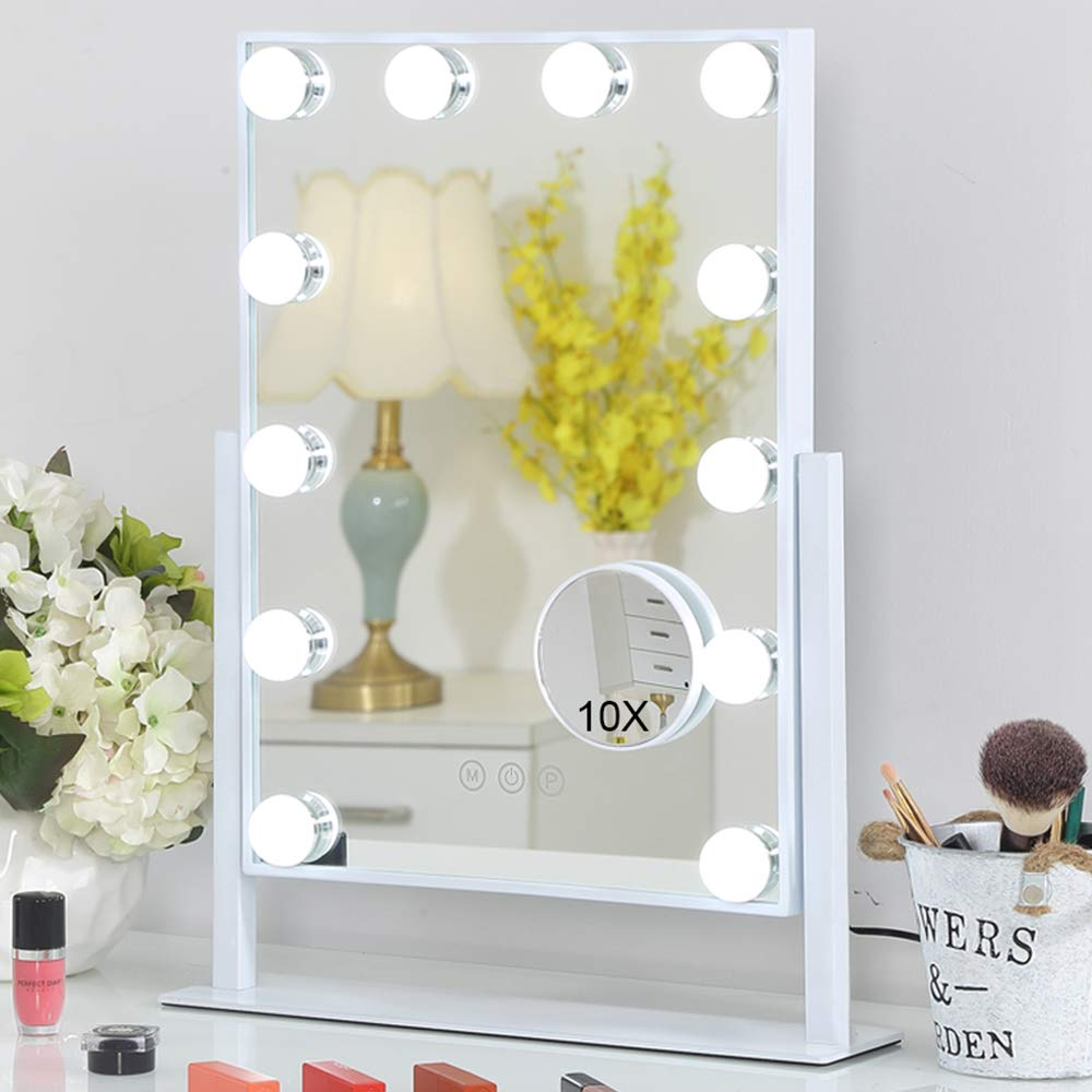 FENCHILIN Makeup Vanity Lighted Mirror