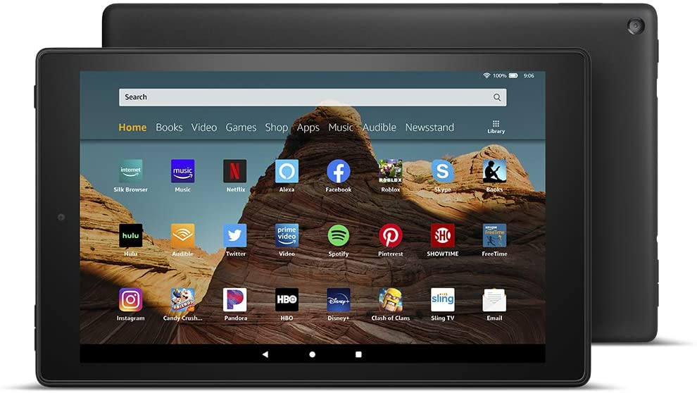 Fire HD Black 64GB Tablet Full HD Display