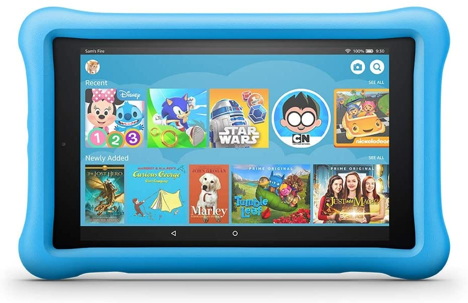 Fire Tablet Blue Kid-Proof 8 Edition