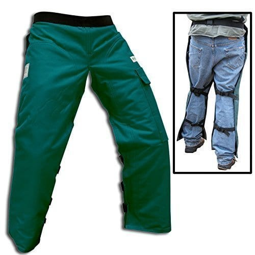 Forester Chainsaw Safety Chaps Pocket