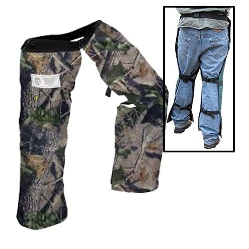 Forester Chainsaw Safety Chaps with Pocket, Apron Style