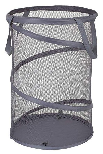 Household Essentials 2027-1 Pop-Up Collapsible Mesh Laundry Hamper