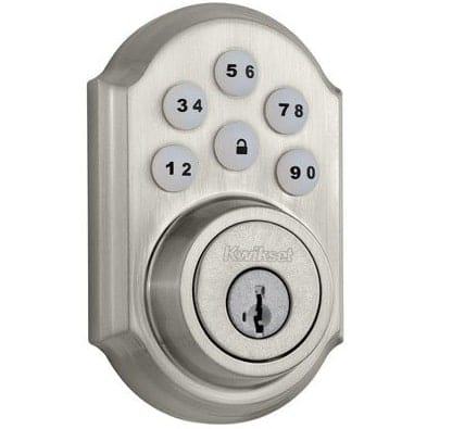 Kwikset 909 SamrtCode Electric Deadbolt Smart Lock