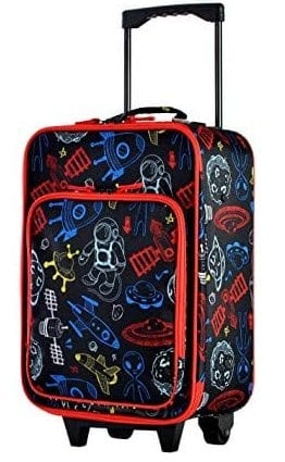 "Olympia Kids 19"" Carry-on Luggage, Black"